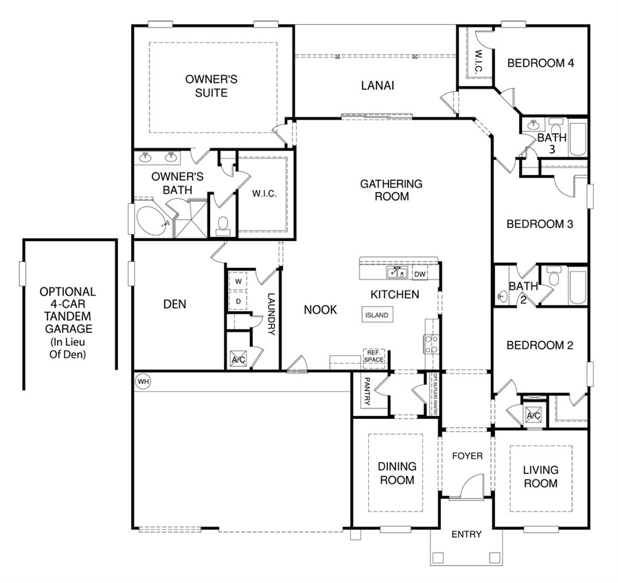 St johns Floor plan