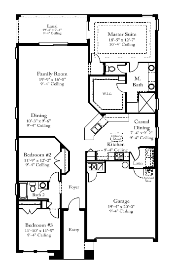 Standard pacific homes brookland floor plan home design for Standard home plans