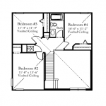 remington second floor plan samara lakes