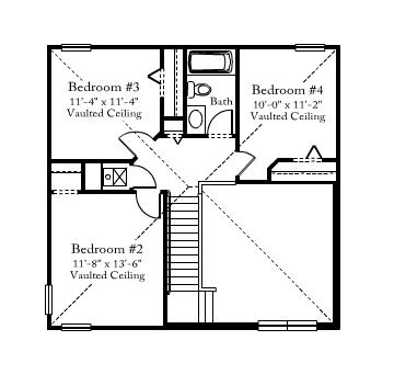 remington second floor plan samara lakes